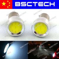 1156 BA15S  P21W COB  led Turn signal light/LED Reverse Back Up car bulb Xenon White DC12V-24V