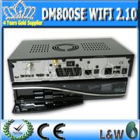 Sunray 800se Wifi internal, DVB 800se WIFI ,dm800 HD SE WIFI Sim2.10 dm 800 se Satellite Receiver free shipping