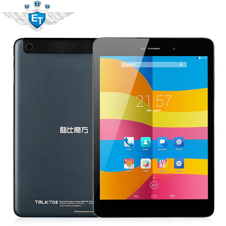 Nuovo originale cubo talk79 u55gt c8 parlare 79 octa core 3g 4.4 androide tablet pc 7,85 pollici schermoips bluetooth telefonata gps otg