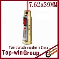 CAL 7.62X39 catridge red laser bore sighter copper boresight Hunting TOPWIN in retailing package
