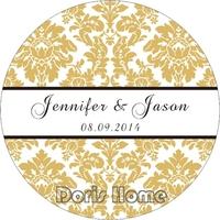 Free Shipping New custom Adhesive Sticker / Label for Wedding / Baby Shower 2.5cm, X149