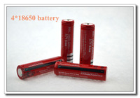 Free Shipping 4 Piece Battery ultafier Battery 18650 4200mAh 3.7v Rechargeable Battery