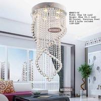 Modern Crystal Ceiling Lights Crystal Lustres Fitting Flush Mount Lighting Ceiling lamps MD6874-5C
