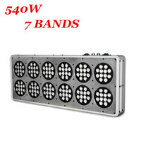 Free Shipping 430w apollo 12 grow led chip led grow lights Red+Blue+Violet+Orange+Infrared+White 5:4:2:1:1:1:1