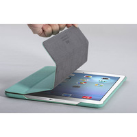100% Brand HOCO Star Series Four Fold Protective Leather Case Smart Cover Stand  for iPad 5 Air