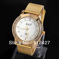 Women dress watches Alloy band watch  fashion gold diamond watches Ladies wristwatches- EMSX10XA09