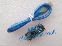Free Shipping 1PC For arduino Nano 3.0 Atmel ATmega328 Mini-USB Board with USB Cable