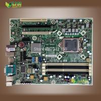 free shipping 90% new for hp Q57 Elite 8100 MS-7557 desktop motherboard BTX DDR3 intel LGA 1156 531991-001 505802-001