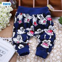 4pcs/lot 2014 autumn kids pants cartoon mickey baby boys trousers sports children pants cotton infant outerwear PANYA CTT25-20