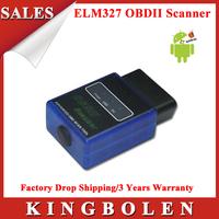 2015 High Quality 2 Years Warranty ELM327 V2.1 Mini Bluetooth ELM 327 OBDII Support All OBD2 Protocols Auto Diagnostic Scanner