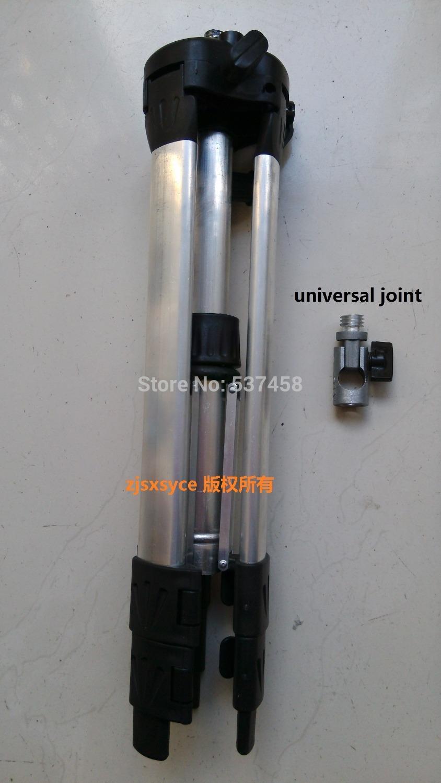 1.2m Aluminum Tripod and Universal Joint, swivel head , laser level Tripod .Universal tripod Adjustable Tripod free shipping(China (Mainland))