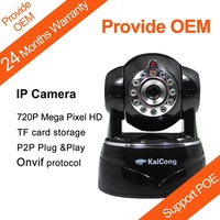 IP Camera POE KaiCong Sip1201 HD 720P Mega pixel P2P Plug and Play Mobile View with IR-Cut