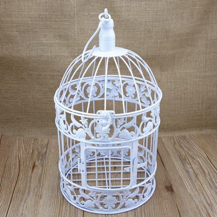 Online get cheap decorative bird cages weddings - Cage a oiseaux decorative ...