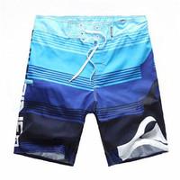 Swimwear Men 2015 New Brand Swimming Trunks Beach Short Q Letter Surf Board Adul Outdoor Sport Quick Dry Briefs Sunga Short