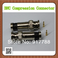 Lot 300pcs CCTV BNC Compression Connector for cctv security camera