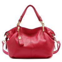 2015 luxury female genuine leather bag women handbags shoulder bag designer brand handbag women messenger bags big lady tote bag