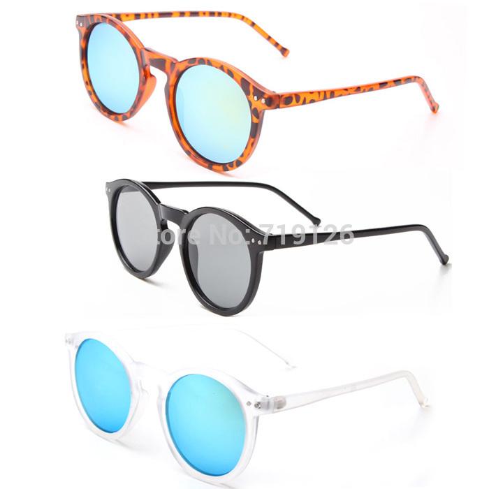 2015 New Sunglasses women Classic Round Shaped Sun Shades ...