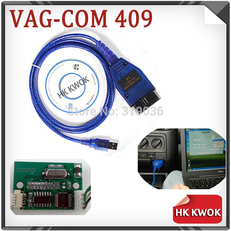 2015 Vag 409 VAG-COM 409.1 Vag Com 409.1 KKL OBD2 USB Cable VAGCOM Scanner Scan Tool Interface For Audi VW Kia Skoda Seat(China (Mainland))