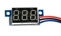 New 2013 High Quality Red LED Panel Meter Digital Voltmeter DC 0-100V TK1215