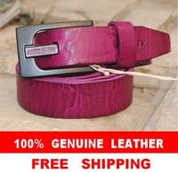 Genuine Leather Fashion MISS SIX Brand Belts For Women Strap High Quality Women's Belt Thin Cinto Female Ceinture WBT0006