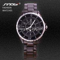 Sinobi Brand All Black Full Steel Stainless Steel Watch Men Dress Watch Unisex Quartz Wristwatch Business Watches MN4625