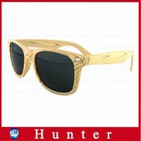 2014 Hot Imitation Wood Sunglasses Plastic Frame for Men Wayfarer Glasses Dark Lenses UV400 Protection Bamboo Pattern Eswd4002