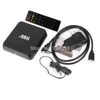 Wholesale XBMC Gotham Android kitkat TV box M8 Amlogic S802 quad core  2GB 8GB Bluetooth 2.4G/5G Dual WiFi DOLBY TrueHD DTS