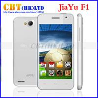 Original JIAYU F1 WCDMA 3G Phone 4.0 inch MTK6572 dual core 512MB RAM 4GB ROM 5.0MP jiayu F1W White Black Free gifts In Stock