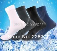 Free Shipping 40pcs=20 pairs/lot  Men's Socks, thin for summer spring, man soks sox,stocking, silk, cheap