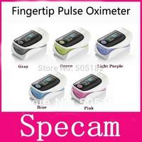 Health care finger Fingertip Pulse Oximeter, OLED screen Blood Oxygen SpO2 saturation finger Pulse oximetro monitor 5 colors