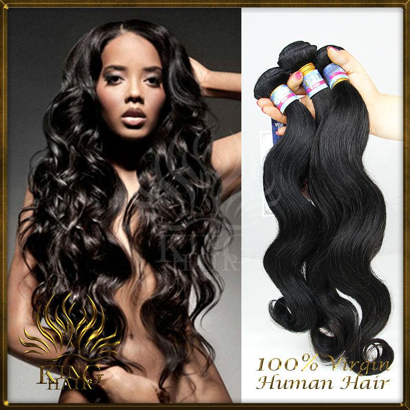 8a Grade Virgin Hair Brazilian Peruvian Malaysian Weaving Extensions Body Wave Christmas Promotion