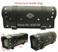 New Black Prince's Car Motorcycle Saddle Bags Cruiser Tool Bag Luggage  Handle Bar Bag Tail Bags Pacote Motos