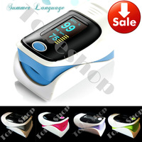 Updated Alarm*** Blood Oxygen SpO2 saturation oximetro monitor Fingertip Pulse Oximeter, BP sound function color display