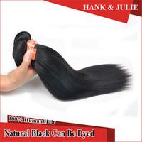 6A Brazilian Hair Silk Straight Bundles 3pcs lot 8~32 inches Natural Black Color Cheap Straight Hair Weave Bundles