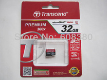 Hot Saels 100 Real Transcend 32GB 32 GB 32 G class 10 UHS I Flash Memory