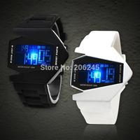 New Fashion Men Digital LED Watches Pilot Aviator Wristwatch Military Force Calendar Cuff Male Sports Digital Watch