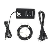 4pcs/Lot Wholesale New 60 LED Adjustable Ring Light Illuminator Lamp For STEREO ZOOM Microscope US Plug 100-240V B2 TK1033