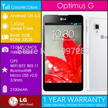 Original LG Optimus G E975 Quad-Core 1.5GHz 32GB Android 4.0 13MP 4.7''TRUE HD IPS Unlocked Smartphone Refurbished(China (Mainland))