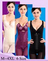 Hot Intimates Full Body Shaper Corset Bamboo Underwear Waist Training Corsets Bodysuit Women Girdles Body Shapers For Women S035