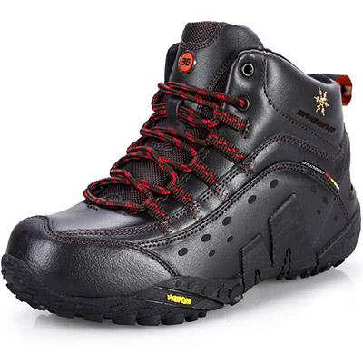 Nuovo 2014 divertimento all'aria aperta& sport gli uomini di marca scarpe da ginnastica montagna impermeabili arrampicata scarpe da trekking scarpa scarpe da caccia