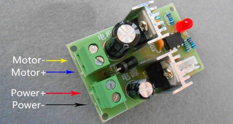 Регулятор частоты вращения двигателя I-CORE 10 Pwm DC 12v/24v/36v DC The 12 v - 36 v general version новый оригинальный ib1212ls 2w регулятор мощности 12 в 12 в один выход dc dc модуль питания