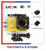 Original GoPro Hero 3 Style SJ4000 Action Camera Diving 30M Waterproof Extreme Gopro Camera G-Senor Sport Camera/Helmet Camera