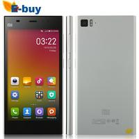 Russian Spanish Original Xiaomi M3 Mi3 WCDMA 3G Qualcomm Quad Core Cell Phone 2GB RAM 64GB ROM 5'' 1080p 13mp NFC 3 Color
