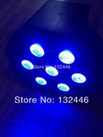 24pcs/lot Free shipping led flat par light high Power 7x10w rgbw with DMX512 par led rgbw 4in1disco light fast shipping