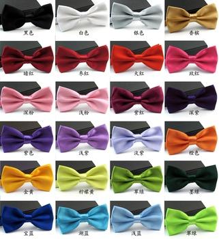 новый 2014 официальный коммерческий галстук-бабочка мужской солидный цвет свадебный галстук-бабочка для мужчин конфетный цвет бабочка галстук галстук-бабочкой бабочки