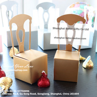 Free Shipping 408pcs Unique Chair Place Card Holder and Favor Box TH002-B3 #weddingcardholders
