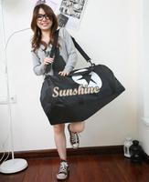 2014 New Portable One Shoulder Cross-Body Bag Travel Bag Large Capacity Luggage Bag Luggage Handbag 3 Colors 18392