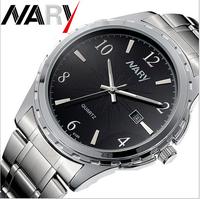 6019# Business luxury Men Watches Quartz Watch Stainless band Wristwatch Uhr/Voir/horloge/hodinky/Gledaj/Assista/Klocka/Guarda