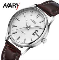 Business Men Watches Quartz Watch Stainless band Calendar Wristwatch Uhr/Voir/horloge/hodinky/Gledaj/Assista/Klocka/Guarda