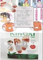 Free Shipping 200pcs/lot Kinoki Detox Foot Pads Patches with Adhesive / No Retail Box(200pcs=100pcs Patches+100pcs Adhesives)